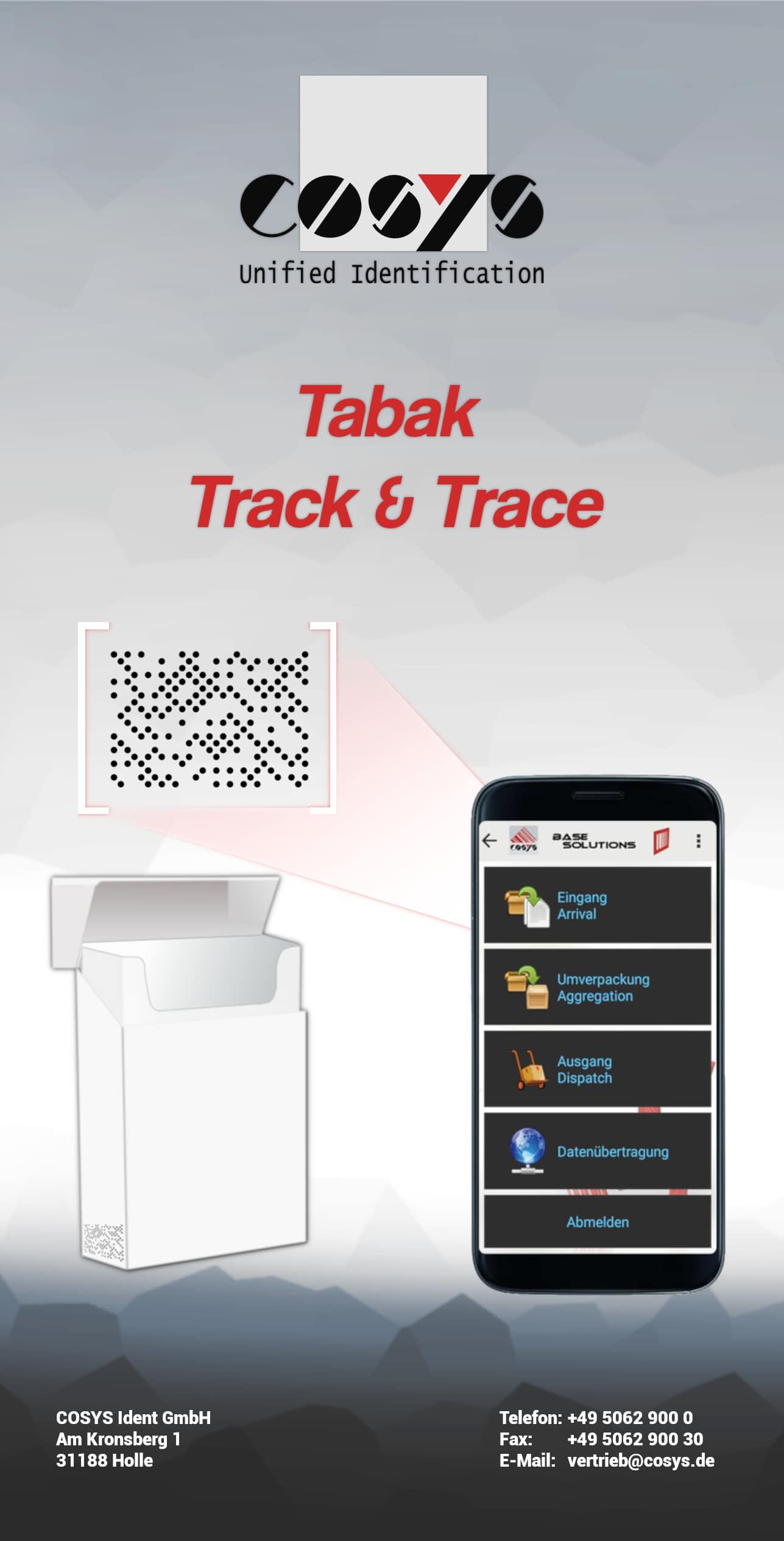 Dotcodeerfassung in der Tabak-Branche