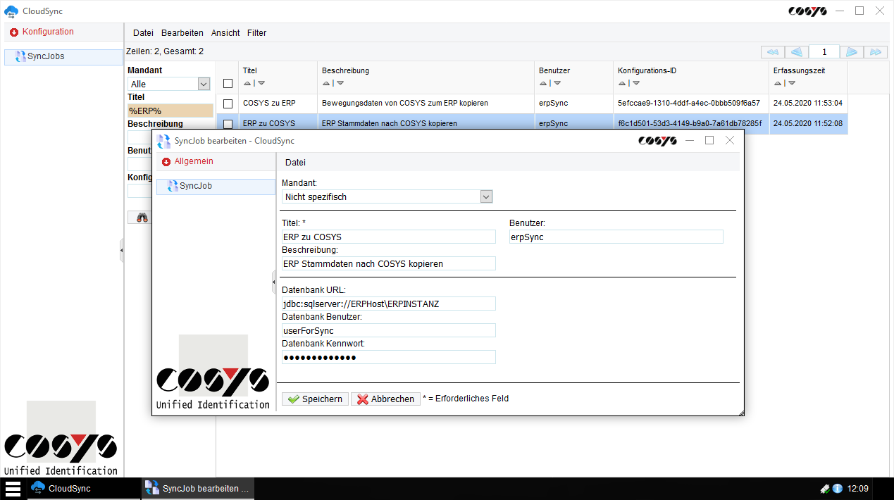 COSYS CloudSync Client