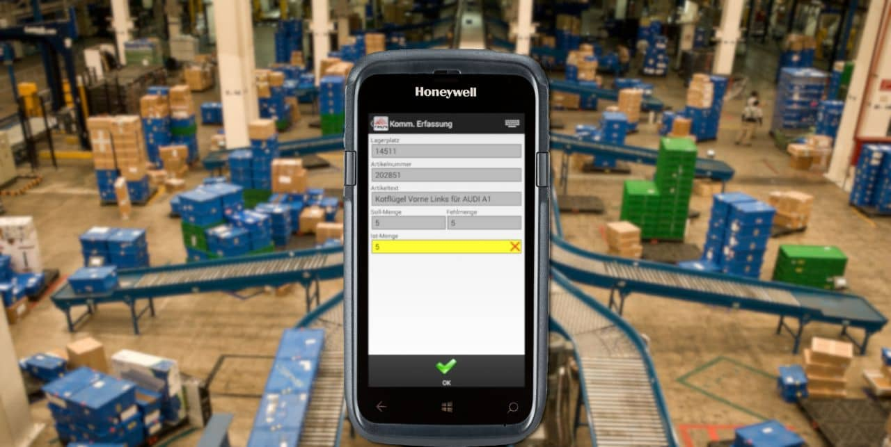 Production Produktion Management Software Softwarelösung mobile Datenerfassung