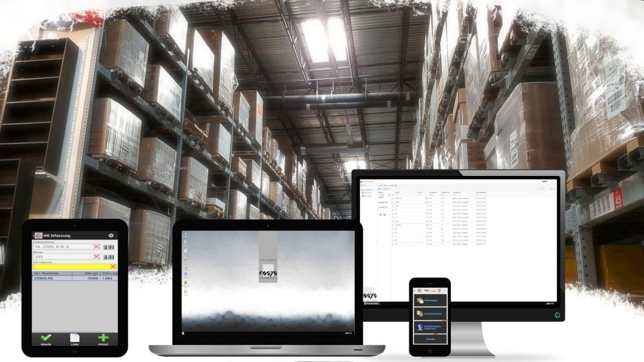 Verladung / Versand WMS Warehouse Management System