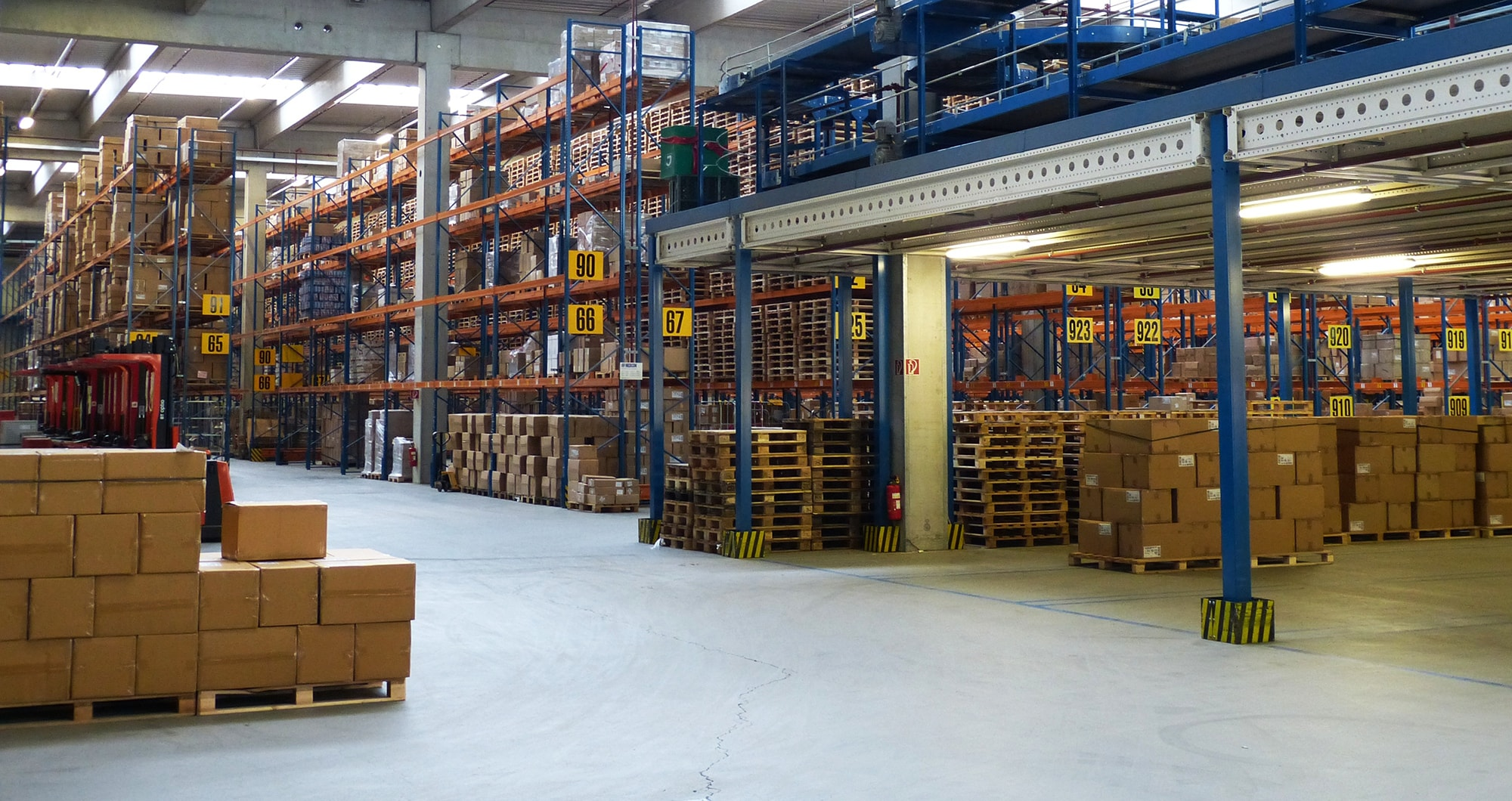 Wegeoptimierung WMS Warehouse Management System